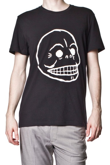 cheap_monday_ss2012_bruce_tee_skull_black_high