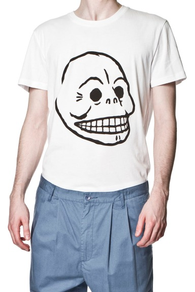 cheap_monday_ss2012_bruce_tee_skull_white_high