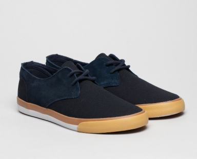 Zapato Chester Canvas Navy Pointer