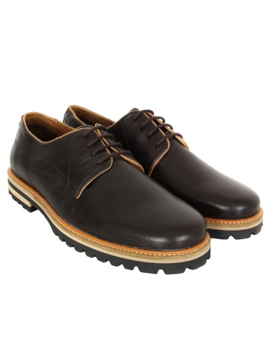 Zapato Willard Leather Chocolate Pointer
