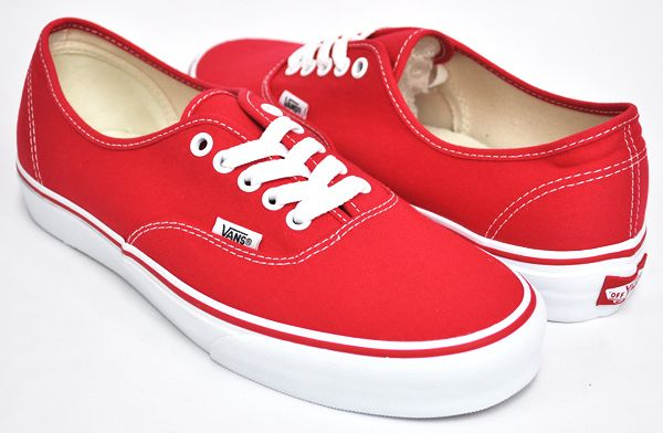 vans authentic rojas