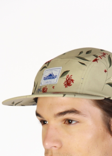 PENFIELD Casper-Floral-Adjustable Five-Panel-Cap 5