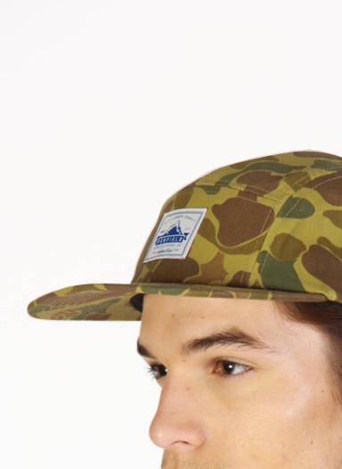 PENFIELD Casper-Printed-Camo-Adjustable-Five-Panel-Cap 1