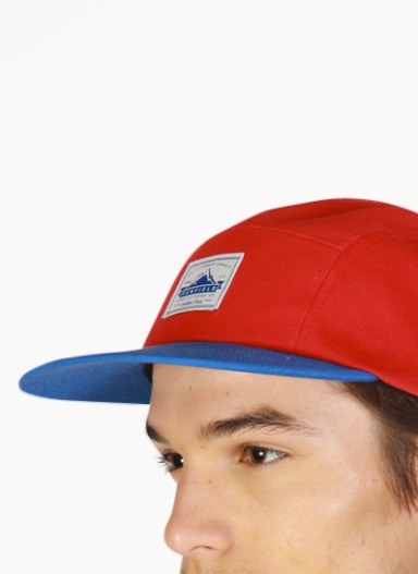 PENFIELD Casper-Red-Adjustable Five-Panel-Cap-2