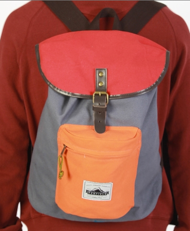 PENFIELD Idelwood Colorblock-Gray-Lightweight-Day-Pack 1