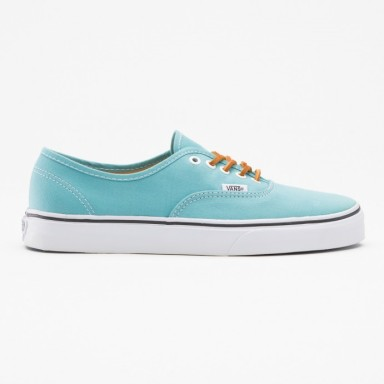 VANS AUTHENTIC SHOES (Brushed Twill) Porcelain:True white