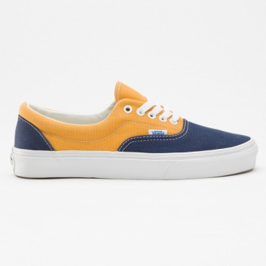 VANS ERA SHOES (Vintage) Dress blues:Sunflower 1